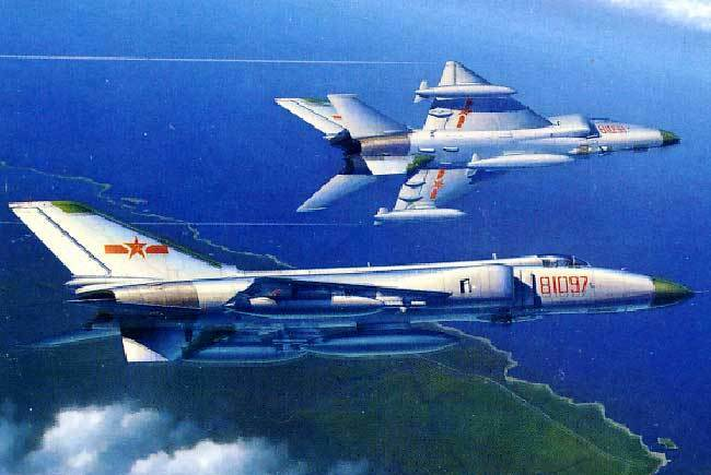 Trumpeter - Pla J-8b 8ii with Pl-5 8 9 Fighter 2 Versions Model Kit - 1 48