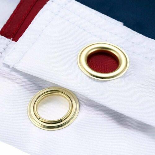 New 3x5 Polyester US Flag USA America Stars Stripes United States Brass Grommets
