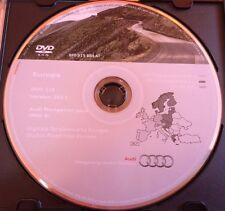 Audi Navigation plus (RNS-E) DVD Sat Nav Disc - Version 2011 West A3 A4 A6 TT