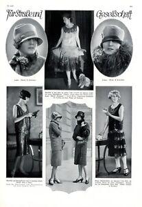 20er-Jahre-Mode-Gesellschaft-1926-XL-Seite-mit-6-Abb-Toblina-Gandy-Maria-West