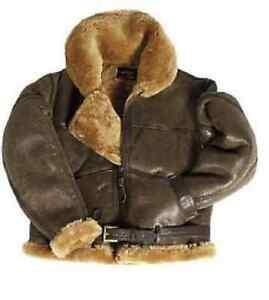 British Army Raf Airforce Pilot Lederjacke Jacke Heavy Leather Jacket Xxl Um Der Bequemlichkeit Des Volkes Zu Entsprechen