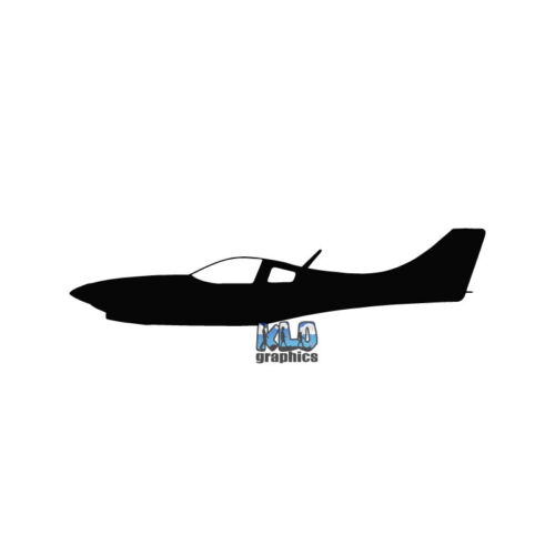 LANCAIR 360 PILOT Side View vinyl Sticker Aircraft Aviator Aviation KIT PLANE