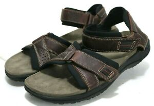 f8441ca6c79f Clarks Keating  99 Men s Sports Sandals Size 13 Leather Brown