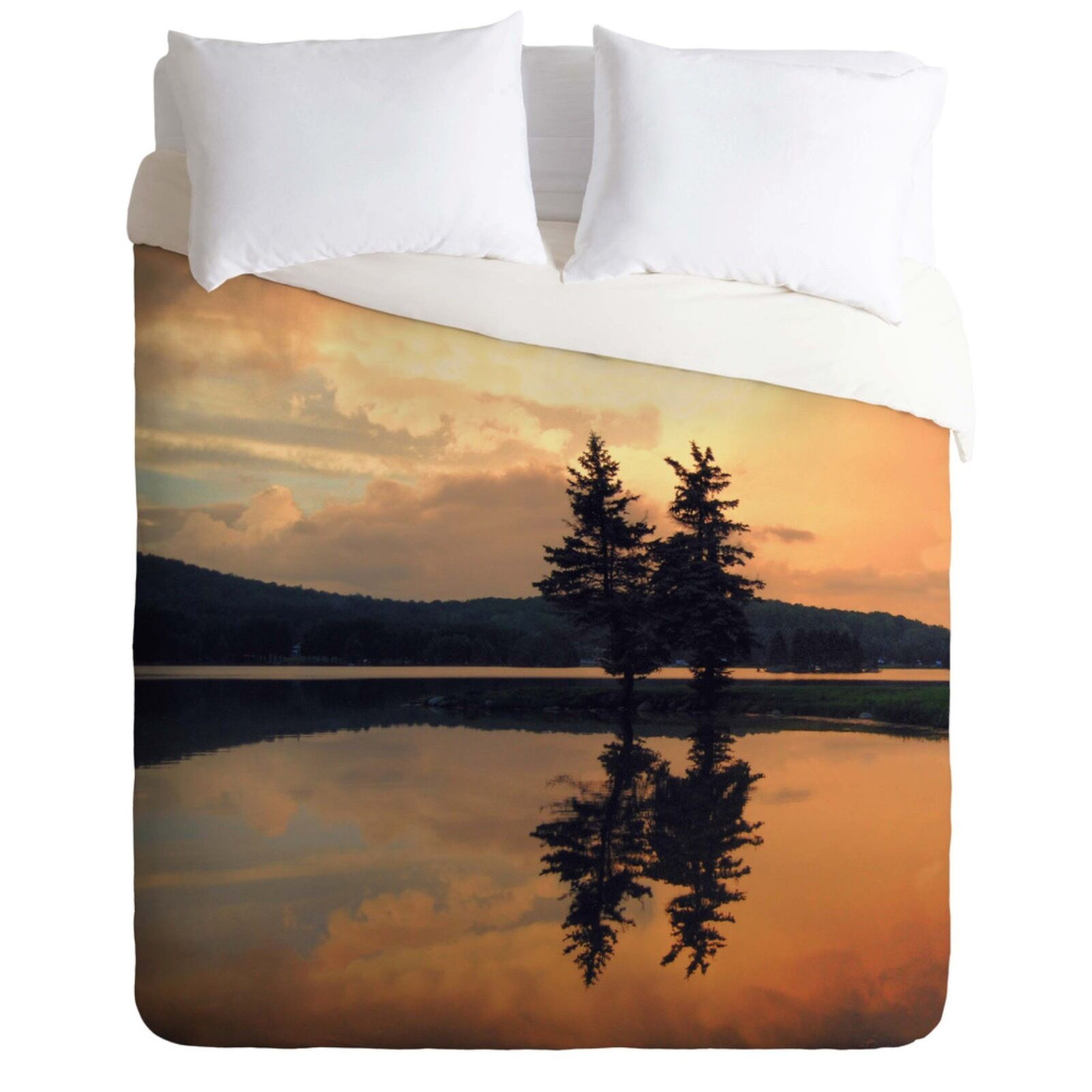 DENY Designs Chelsea Victoria The River Lightweight Duvet Cover