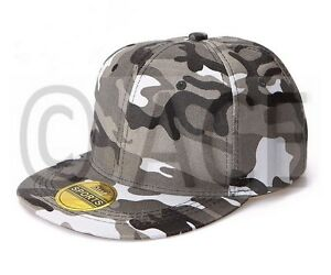 10fbbf77734 Details about Unisex Mens Womens Camo Camouflage Trucker Hat Trendy Snapback  Baseball Cap