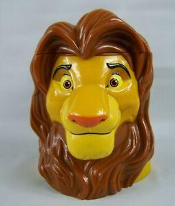 Disney on Ice The Lion King Adult Simba Plastic Mug Cup with Hinged Lid