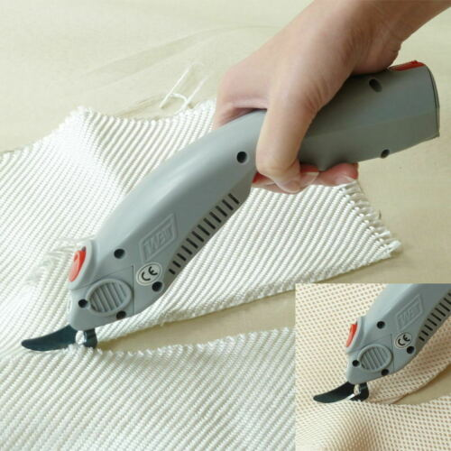 2 heads WBT Portable Electric Cutter Scissors Fabric Cloth Leather cutting tool