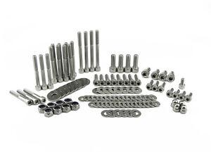 Details about Stainless Steel Bolt Kit for VQ35DE 350z z33 G35 Engine Bay  Plenum Dress Up