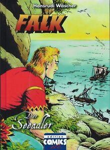 FALK-DER-SEEADLER-HC-Farbausgabe-lim-350-Ex-HANSRUDI-WASCHER-Hardcover