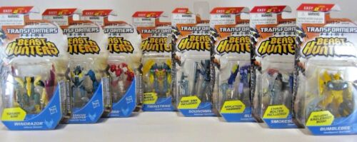 Hasbro Transformers Prime Beast Hunters Legion Class Series 3 Action Figures New