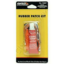 BIKE Flat TIRE Puncture Repair Kit Bicycle Inner Tube EZ Patch Rubber Cement