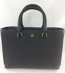 614a231c70e New Authentic Tory Burch Emerson (50707) Small Zip Tote Handbag ...