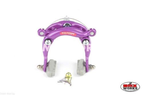 Old School BMX Genuine Dia-Compe DC750 Centre Pull Caliper Freestyle Purple
