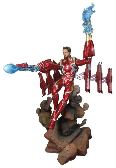 IRON MAN MK 50 UNMASKED Marvel Gallery PVC FIGURE diamond select new