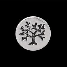 ANDANTE Silber FLOATING CHARM Schwebendes Medaillon Baum Glücksbringer #4920