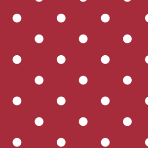 Red Polka Dot Vinyl Wipe Clean PVC Table Cloth 1.4m x 1.8m Tablecloths UK