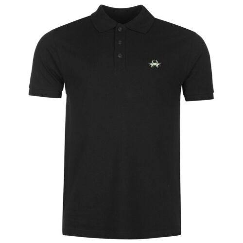 Crab Embroidery Polo Shirts Embroidered Shirts