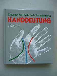 Handdeutung Erkennen Sie Psyche und Charakter durch .. 1985 Psychologie