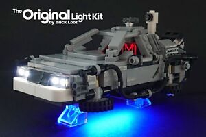 LED Lighting kit fits LEGO ® Back to the Future -The DeLorean Time Machine 21103