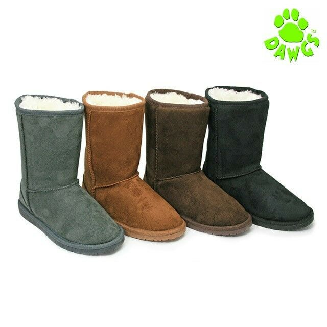 "USA Dawgs 9"" Cozy Winter Boots"