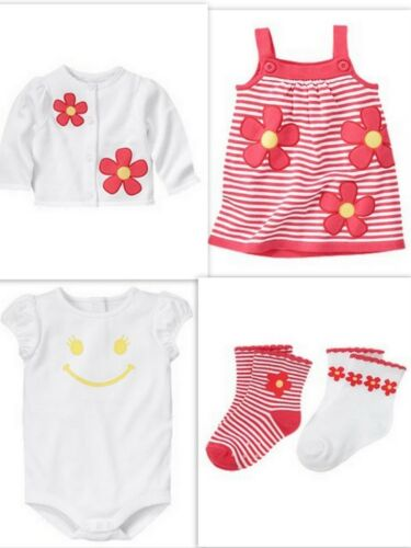 NWT Gymboree sz 18 24 mo SPRING SMILES Dress Shirt Sweater Socks SET Outfit