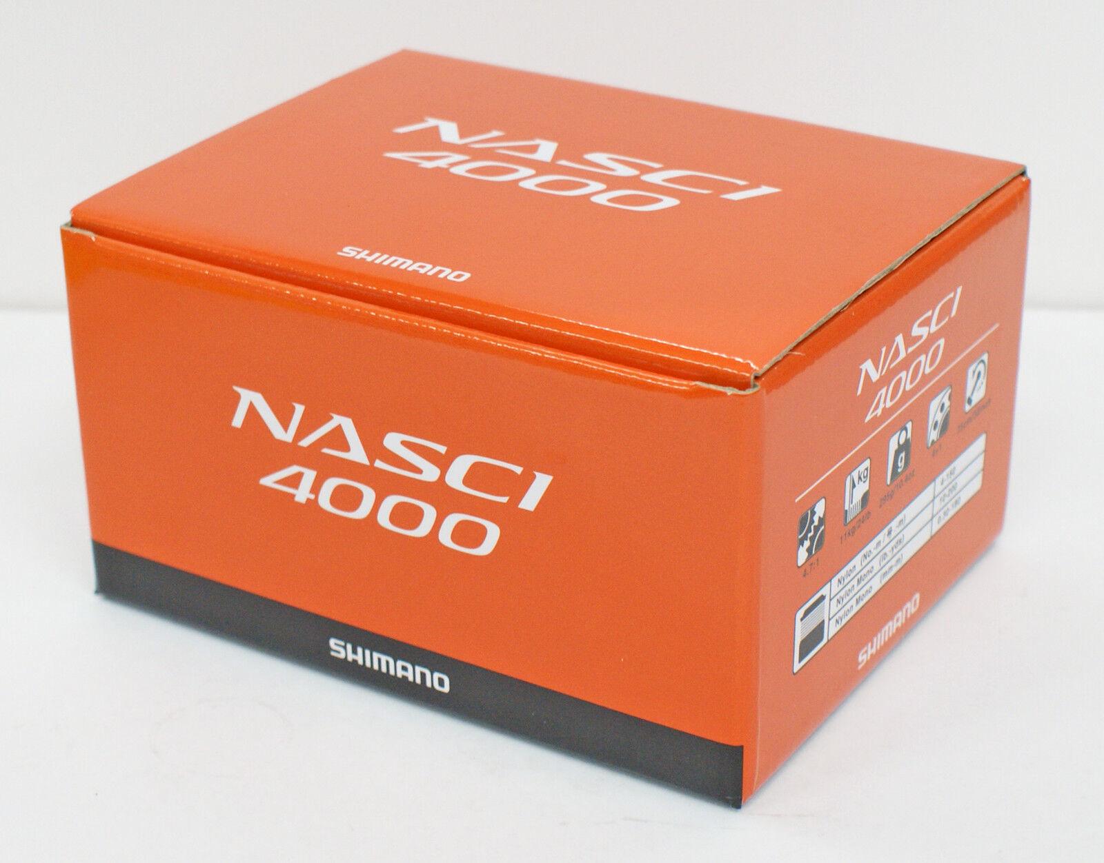 Shimano 16 Nasci 4000 Spinning Reel 4969363035752