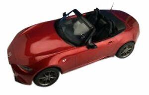 Première MAZDA 18 1/18 NEW ROADSTER SOUL Rouge Premium Métallique Diecast Modèle F18017