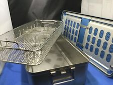23x11x55 Sterilization Container Casecontainer W Tray Amp Attachments Kp
