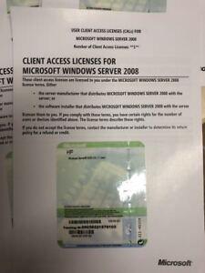 Adaptable 1 User/utilisateur Cal Pour Microsoft Windows Server 2008-également R2-afficher Le Titre D'origine