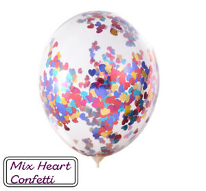 20-Pcs-Mix-confettis-ballons-latex-12-034-decorations-a-L-039-helium-Fete-D-039-anniversaire-Mariage