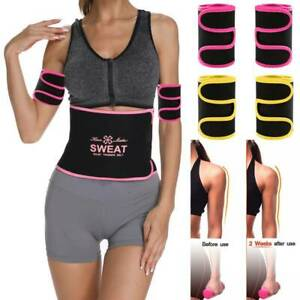 Lady Weight Loss Slim Arm Wraps Neoprene Arm Trainers Trimmers Sauna Sweat Band
