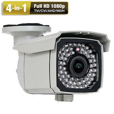 Sony CMOS 4-in-1 1080P 2.8-12mm Varifocal Lens 2.6MP OSD 4 Security Camera //W AC