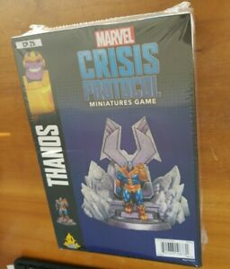 Marvel Crisis Protocol Miniatures Game Thanos Asmodee Atomic Mass Model New 841333108731 Ebay