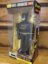 "Funko 2012 SDCC Vinyl Invaders Batman Black Suit  11"" Robot Figure *Brand New*"