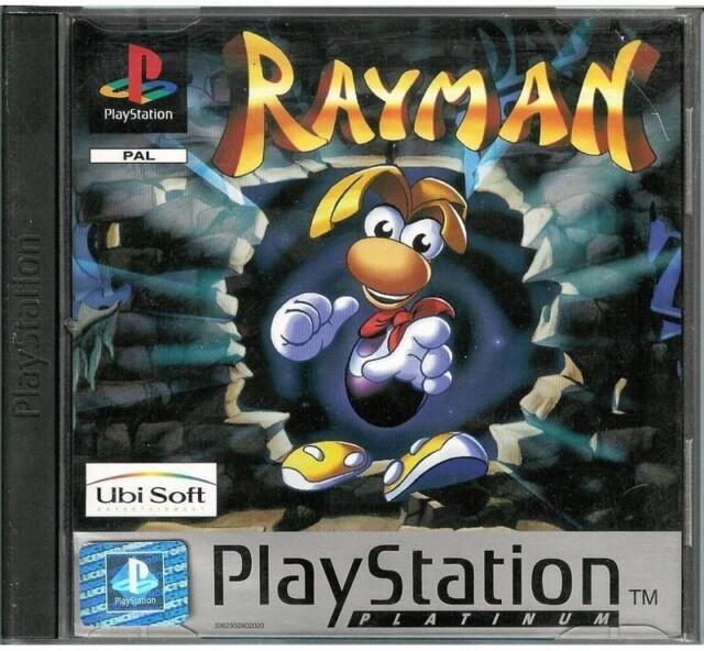 Rayman Platinum (Sony PlayStation 1, 1995)