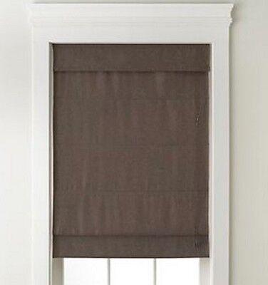 NEW Textured Blackout Roman Shade/Blind Fabric Light Control Window Treatment