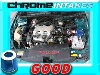 Red Blue 96 1996 Chevy Beretta/chevrolet Corsica 3.1 3.1l V6 Air Intake Kit