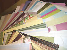 STACK OF (100) 12x12 SCRAPBOOKING PAPERS $$HUGE SAVINGS$$ NEW STORE STOCK !!