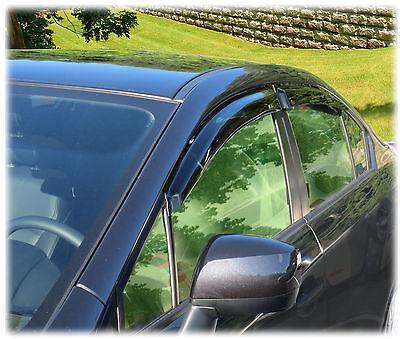 Set of 4 Window Rain Guards for Subaru Impreza Sedan 2012-13-14-15-16 WV-12IS-TF
