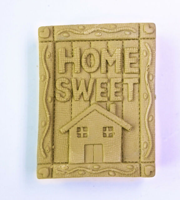 Home Sweet S078 Silicone Soap mold Craft Molds DIY Handmade soap mould
