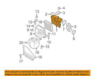 SUBARU OEM 10-16 Outback Air Cleaner Intake-Box Housing Cover Lid 46052AJ00A