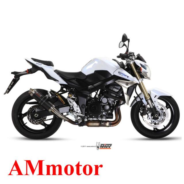 Mivv Suzuki Gsr 750 2013 13 Escape Moto Silenciador Gp Carbon