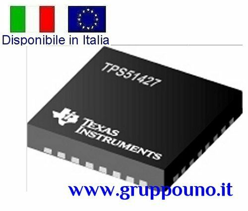 TPS51427 In Italia ACTIVE Dual D-CAP™Mode Synchronous Step Down Controller