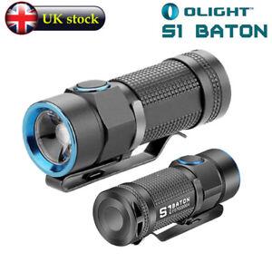 Olight-S1-baton-Torche-Lampe-de-poche-CREE-XM-L2-CW-DEL-500-LM-UK-Stock-Entierement-neuf-dans-sa