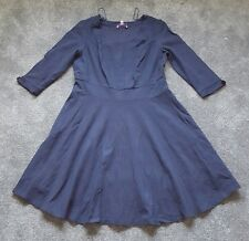 Pepperberry Ladies Fabulous navy party dress. Size 18 C-RC. Brand new. RRP £79.