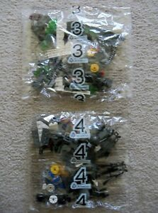 LEGO-Ninjago-Rare-9450-Epic-Dragon-Battle-Bags-3-amp-4-New-amp-Sealed