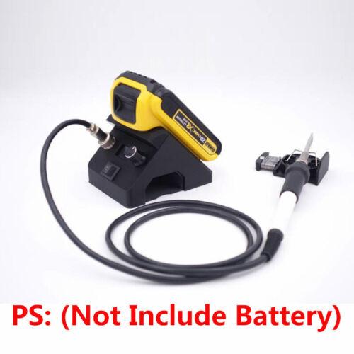 T12 Digital Soldering Iron Station for DEWALT DCB 12-24V Slider Tools Battery