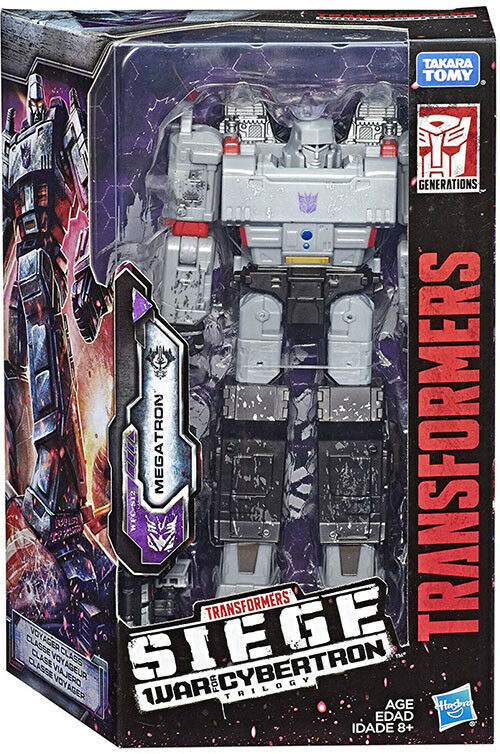 Transformers Siege War For Cybertron 7 Inch Figure Voyager Wave 1 - Megatron