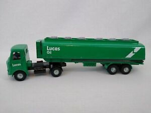 Dinky-Toys-945-Lucas-Oil-AEC-Articulated-Fuel-Tanker-Lorry-Free-Postage