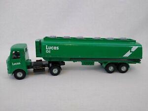 DINKY TOYS 945 LUCAS OIL AEC articolato CARBURANTE CISTERNA camion SPEDIZIONE GRATUITA